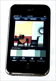 Paint Manufacturers Launch Color-Capturing iPhone Apps | Cambridge Colorado