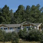 Rear Elevation - Sedalia Remodel | Cambridge Colorado