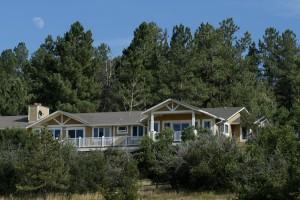 Rear Elevation - Sedalia Remodel   Cambridge Colorado