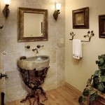 Powder Room - Centennial Ranch Remodel | Cambridge Colorado